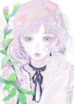 石田スイ先生が描いたイラストすっごく好み。色が綺麗。ハイセンスだな〜〜