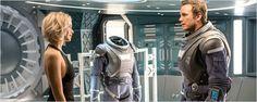 'Passengers': Primeras fotos de la película con Jennifer Lawrence y Chris Pratt