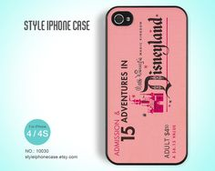 iPhone 4 Case iPhone 4S Case  Vintage Disney by StyleiPhoneCase, $8.99