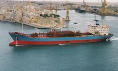 Maersk Shetland at Valetta