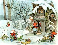 daar gaat de kerstman