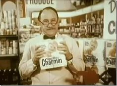"""Mr. Whipple, """"Please don't squeeze the Charmin!"""""""