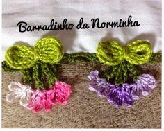 Wonderful Ribbon Embroidery Flowers by Hand Ideas. Enchanting Ribbon Embroidery Flowers by Hand Ideas. Crochet Art, Cotton Crochet, Love Crochet, Crochet Crafts, Crochet Doilies, Crochet Projects, Crochet Borders, Crochet Stitches Patterns, Crochet Squares