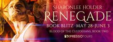 The Musings of Author Jeanne St. James: #Giveaway: RENEGADE by Sharonlee Holder #PNR #Roma...