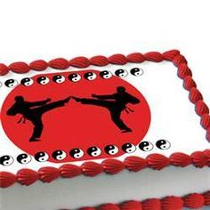 Martial Arts Birthday Cake Ideas And Designs Picture 30318 Karate Art