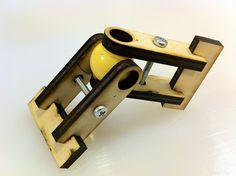 Laser Cut Universal Joint by robhopeless, via Flickr