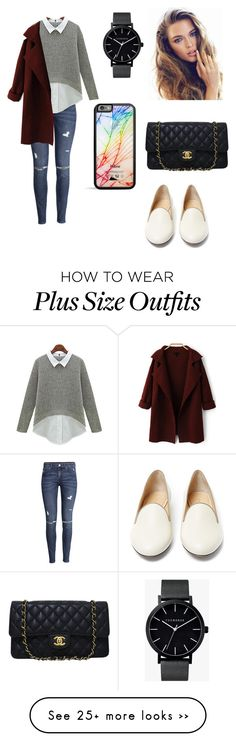 """ "" by summertastic101 on Polyvore featuring H&M, Charlotte Olympia, The Horse and Chanel"