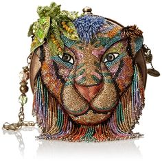 Mary Frances On The Prowl Evening Bag - Mary Frances On The Prowl Evening Bag - Removable strap length: 36 inches,One interior slip pocket Source by bagladyshoppers Unique Handbags, Unique Purses, Unique Bags, Purses And Handbags, Vintage Purses, Vintage Bags, Vintage Handbags, Mary Frances Purses, Mary Frances Handbags