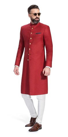 Make a style statement with our wide range of customized ethnic wear for men. View finely tailored custom made sherwani, bandhgala jacket and more at Herringbone & Sui. Indian Formal Wear, Mens Indian Wear, Mens Ethnic Wear, Indian Groom Wear, Indian Men Fashion, Mens Fashion, Wedding Dresses Men Indian, Wedding Dress Men, Wedding Suits