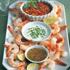 Shrimp dip trio - Chatelaine Recipes