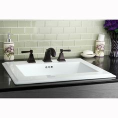 Oil-rubbed Bronze Widespread Bathroom Faucet - Overstock™ Shopping - Great Deals on Bathroom Faucets