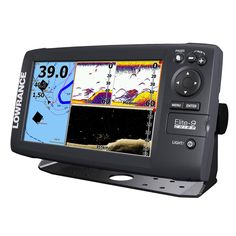 Lowrance Elite-9 CHIRP Fishfinder/Chartplotter with 50/200/455/800 HDI Transom Mount Transducer Navionics+ Chart