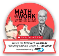 Watch Math @ Work, a webisode featuring Tim Gunn and Diane Von Furstenberg!