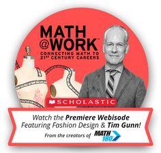 Watch Math @ Work, a webisode featuring Tim Gunn and Diane Von Furstenberg!