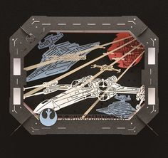 Paper Craft Kit STAR WARS X-Wing Starfighter * You can get more details by clicking on the image.(It is Amazon affiliate link) #StarWarsToys X Wing, Star Wars Toys, Craft Kits, Paper Crafts, Stars, Amazon, Link, Theater, Scene