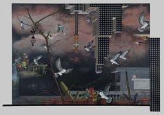 artnet Galleries: Soft envoys by Jagannath Panda from Gallery Wendi Norris