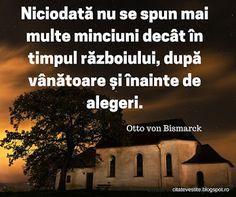 Citate pentru Facebook Otto Von Bismarck, Facebook, Weather, Weather Crafts
