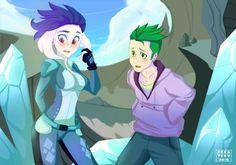 Princess Ember and Spike