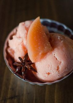 Fall Recipe: Quince & Vanilla Sorbet Recipe | The Kitchn.  Making this as soon as I can get my hands on some quince