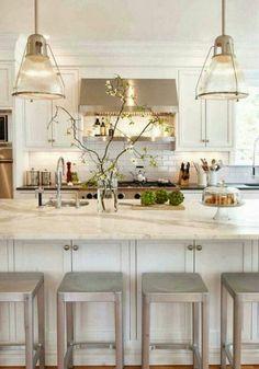 Moderne Küchen mit Kochinsel küchenblock freistehend familie