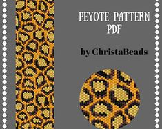 Beading patterns and tutorials: peyote, loom, bead rope by ChristaBeads Peyote Stitch Patterns, Bead Loom Patterns, Bracelet Patterns, Beading Patterns, Beaded Bracelets Tutorial, Peyote Beading, Red Pattern, Bead Weaving
