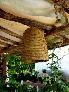 Bees:  Colonial #Bee #Skep.