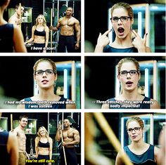 Arrow - Oliver, Felicity, Diggle & Sara #2.14 #Season2 <3