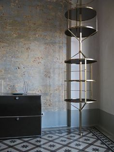 SHELF LOVE: A Few Picks From D's Files  | Floor to ceiling shelving by Pietro Russo.