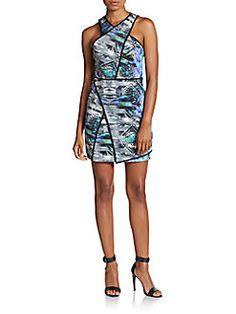 Tobias Print Dress