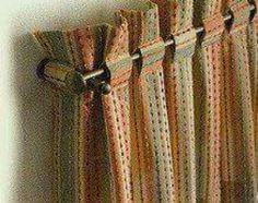 Glorious Make Rod Pocket Curtains Ideas. Enchanting Make Rod Pocket Curtains Ideas. No Sew Curtains, Rod Pocket Curtains, Curtain Fabric, Linen Curtain, Rideaux Design, Living Room Drapes, Curtain Designs, Window Coverings, Window Valances