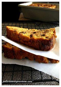Pumpkin Chocolate Chip Breakfast Bread - Paleo @paleorunmomma