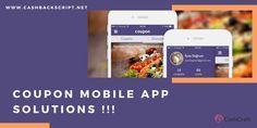 #CouponMobileAppSolutions - #Cashbackscript - #CashCraft App Development Companies, Mobile Application, Script, Coupons, Coupon, Script Typeface