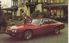 Jaguar XJ-S, advertising postcard, USA, # n.a., 1980