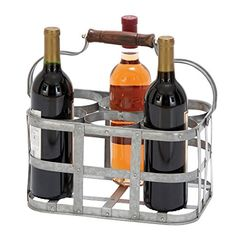 Wine Racks - Deco 79 Vino 6 Bottle Tabletop Wine Rack * Read more at the image link.