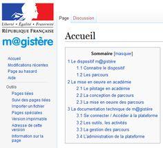 Re(découvrir) le #Wiki du dispositif #Magistere #EcoleNumerique