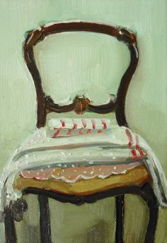 chair painting by janet hill