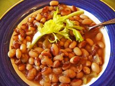 Senate Bean Soup Recipe using yellow eyed beans.  Yellow Eyed beans are meaty and rich, so rich that if you do not want to add a meat for seasoning you will never miss it! (Coming from me that's a BOLD statement)  Make a pot today.  It will carry you through as you prepare for the holiday rush!  Soup recipes rock!  Giggles