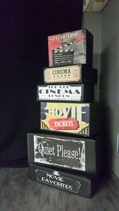 Easy, Fun Movie Theater Room Decor