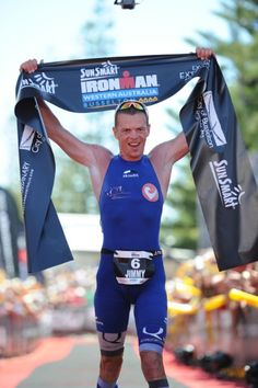On the top at Ironman Western Australia 2012