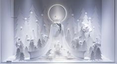 Image result for paper christmas display