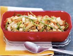 Spicy Sesame-Tofu Salad Recipe | Vegetarian Times