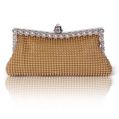 Damara Womens Dimple Mesh Crystals Mini Clutch Evening Bag  Evening Bags Product Features     Dimple Mesh Clutch with Crystals   Frame with crystal encrusted clasp closure   Interior slip pocket   Dimensions:7.87″ x 3.9″ x 0.78″   2 removeable Chains with 21″ Drop & 7″ Drop         Evening Bags Product Description   Dress up any  ..  http://www.bestwomenbag.com/damara-womens-dimple-mesh-crystals-mini-clutch-evening-bag/