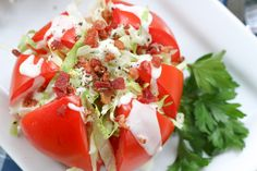 Living Litehouse Guide to Tomato Picking - Tomato Wedge Salad | Litehouse Foods