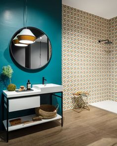 DIZAJNOVÁ KÚPEĽŇA - Výnimočné talianske obklady / BENEVA Spring Images, Spring Collection, Tiles, Mirror, Bathroom, Wall, Furniture, Home Decor, Concept