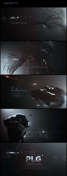 Power League Gaming on Motion Graphics Served #styleframe