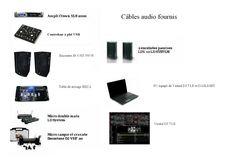 Location Sono complète Orléans (45000) Sono complète comprenant : un ampli Crown 2500 w, deux enceintes Ld System, deux enceintes Boost, un contrôleur à plat USB, une table de mixage Ibiza, un PC équipé de virtual Dj 7 LE relié u contrôleur