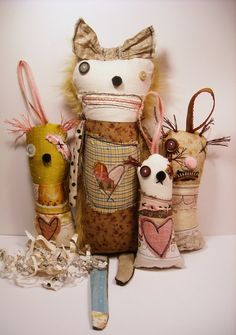Junker Jane style... with the right balance of cute to creepy!  :)