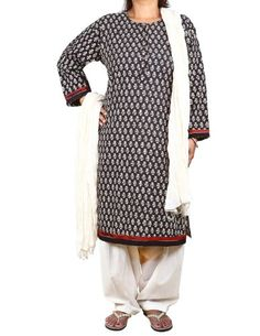Black Kameez Off-White Salwar Dupatta Indian Fashion for Women Size XL ShalinIndia,http://www.amazon.com/dp/B00DXZIC4U/ref=cm_sw_r_pi_dp_jpm-rb17DRH67VR6