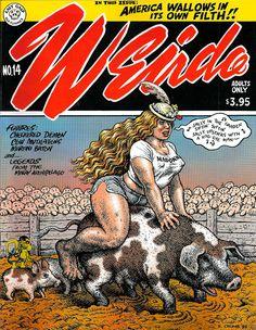 Weirdo #14 R. Crumb and Others - Last Gasp Comix http://i.ebayimg.com/t/Weirdo-14-R-Crumb-and-Others-Last-Gasp-Comix-/00/s/MTAwMFg3NzY=/$(KGrHqRHJCQE+OGYDomFBP0K60n27!~~60_57.JPG