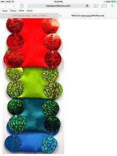 Christmas ribbon Ornament Wreath, Ornaments, Christmas Ribbon, Dots, Apple, Color, Stitches, Apple Fruit, Colour